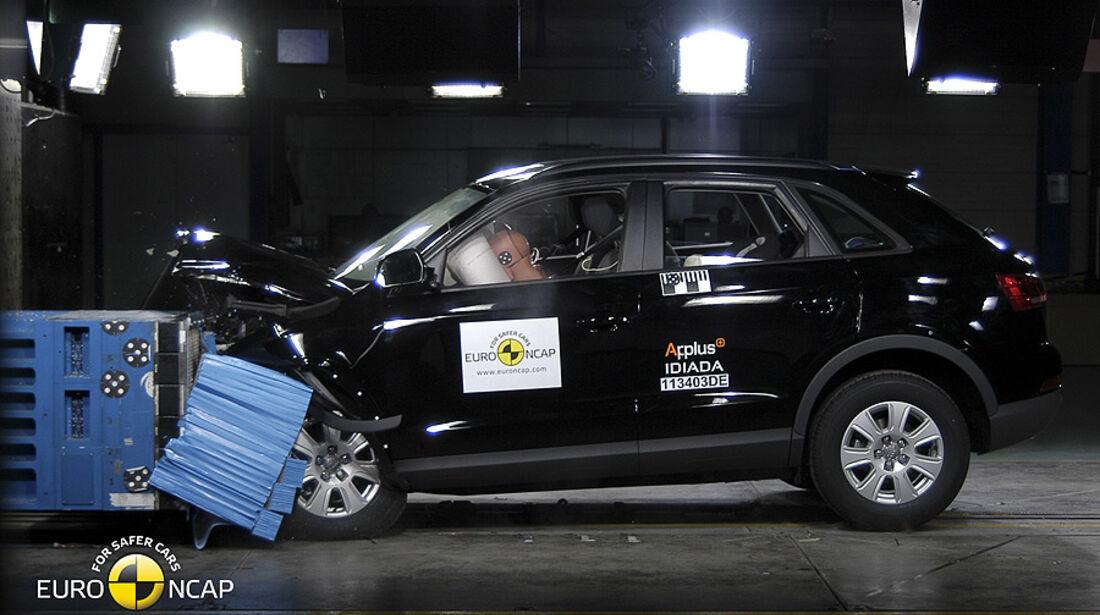 EuroNCAP-Crashtest Audi Q5