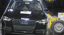 EuroNCAP-Crashtest Audi Q6