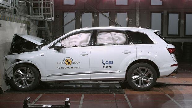EuroNCAP Crashtest Audi Q7