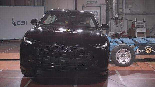 EuroNCAP Crashtest Audi Q8