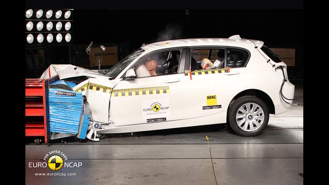 EuroNCAP-Crashtest BMW 1er
