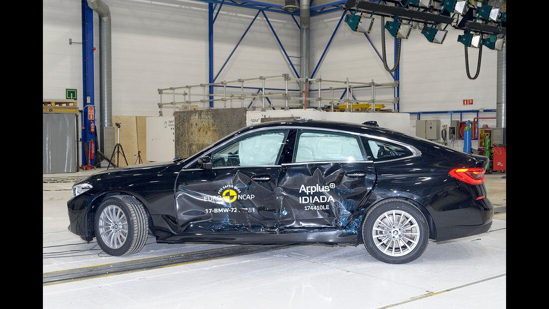 EuroNCAP Crashtest BMW 6er GT