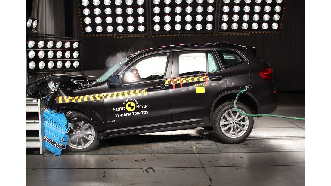 EuroNCAP Crashtest BMW X3