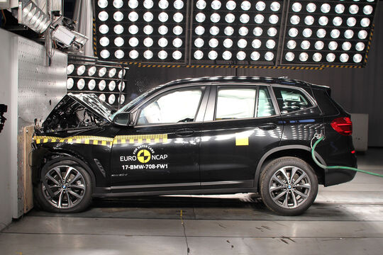 EuroNCAP Crashtest BMW X3