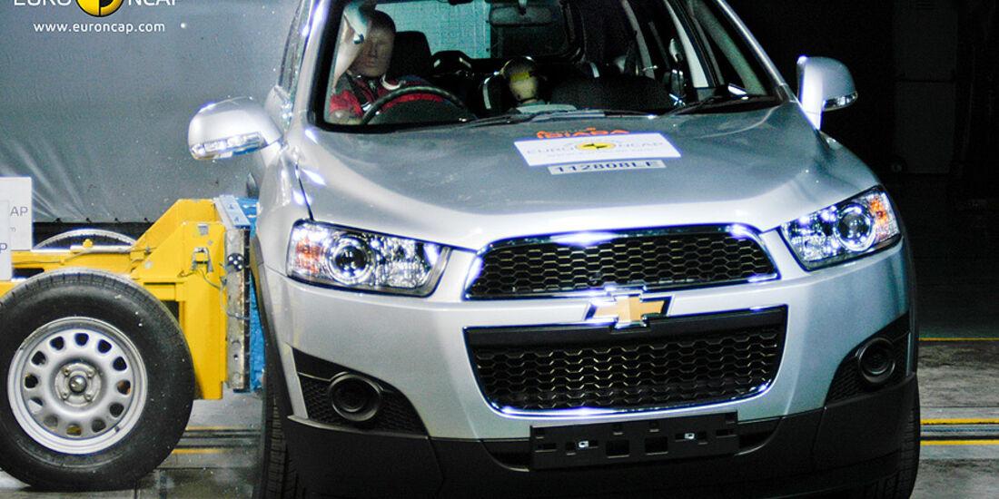 EuroNCAP-Crashtest Chevrolet Captiva