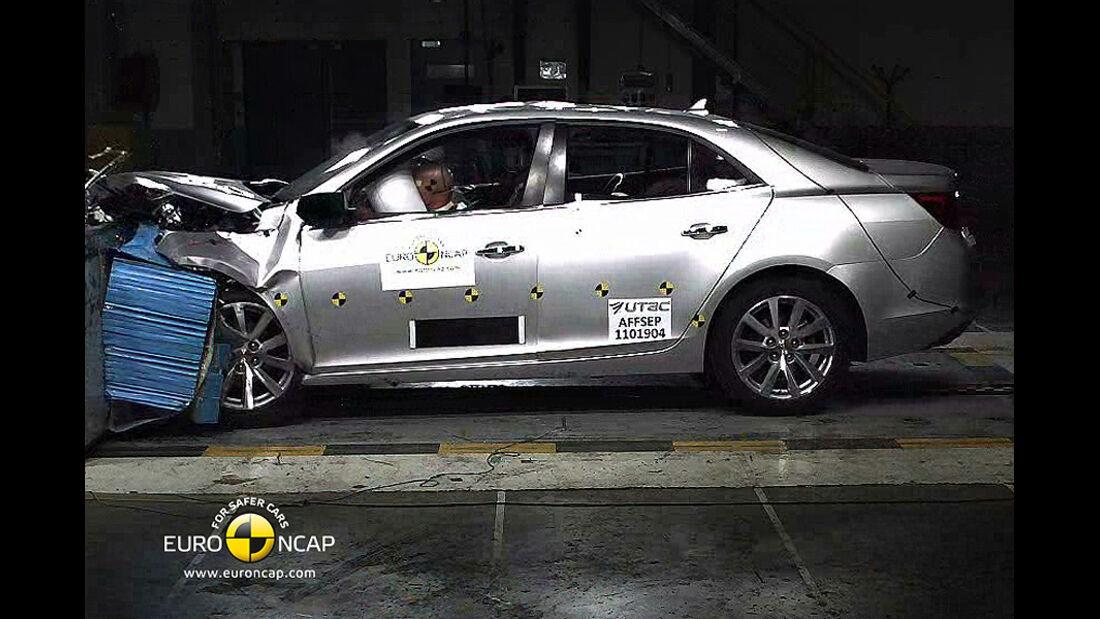 EuroNCAP-Crashtest Chevrolet Malibu