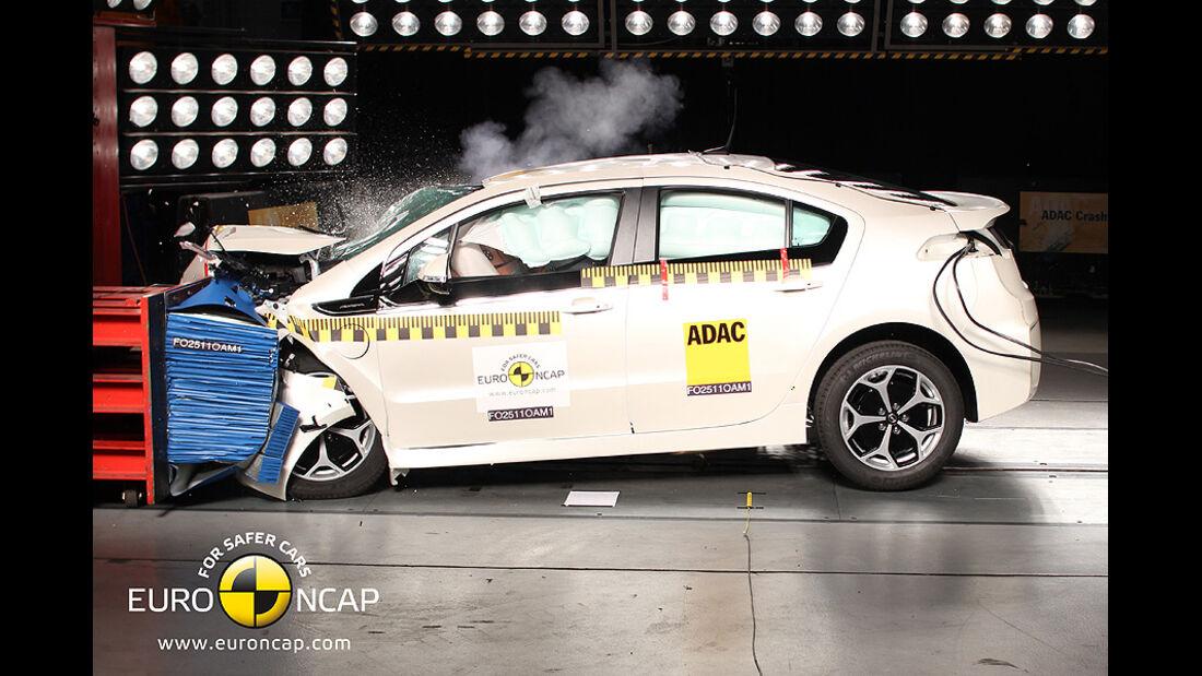 EuroNCAP-Crashtest Chevrolet Volt