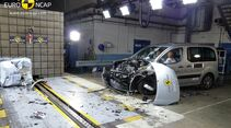 EuroNCAP-Crashtest Citroen Berlingo