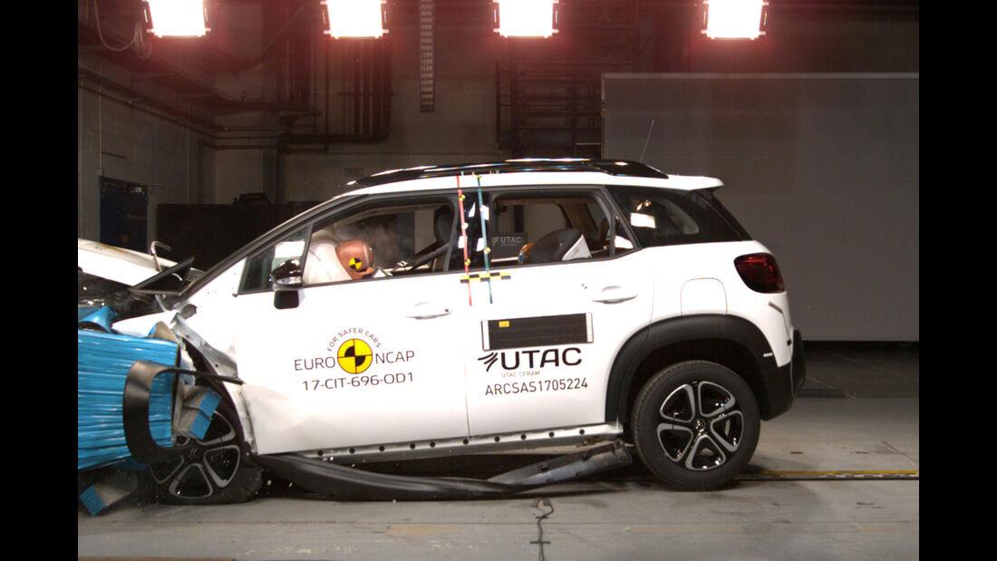 EuroNCAP-Crashtest Citroen C3 Aircross