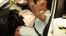 EuroNCAP-Crashtest Citroen C4, Fahrer-Crashtest