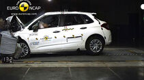 EuroNCAP-Crashtest Citroen C4, Frontal-Crashtest