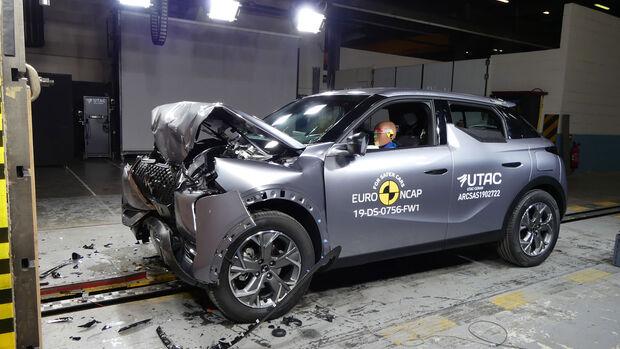 EuroNCAP-Crashtest DS 3 Crossback