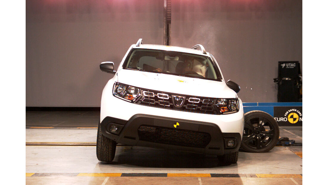 EuroNCAP Crashtest Dacia Duster