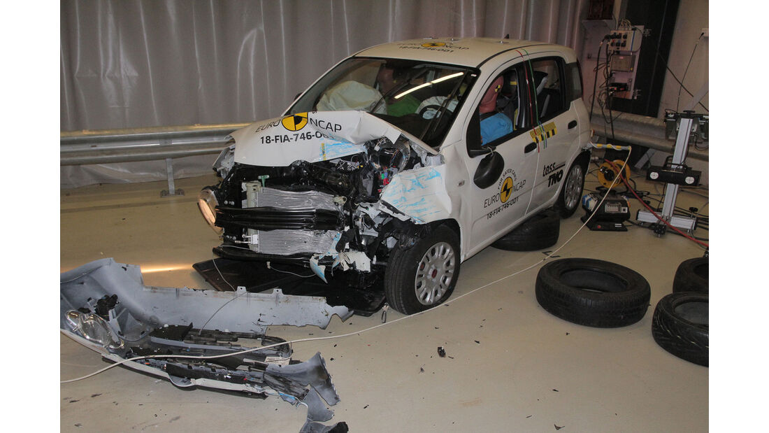 EuroNCAP Crashtest Fiat Panda