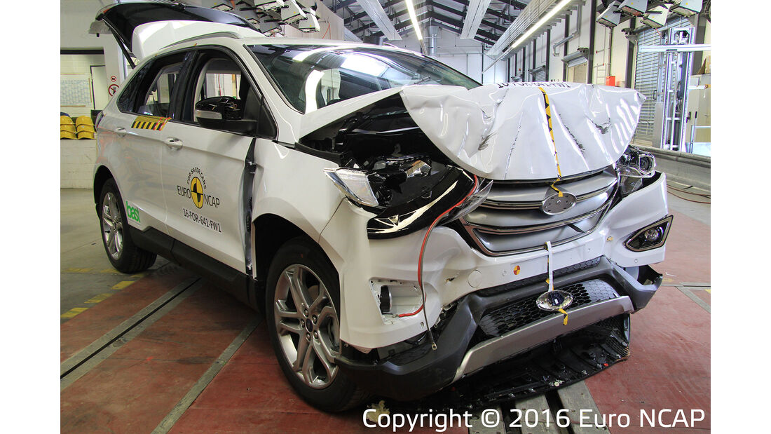 EuroNCAP Crashtest Ford Edge