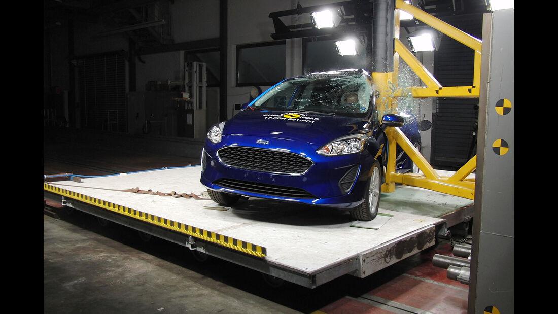 EuroNCAP-Crashtest Ford Fiesta