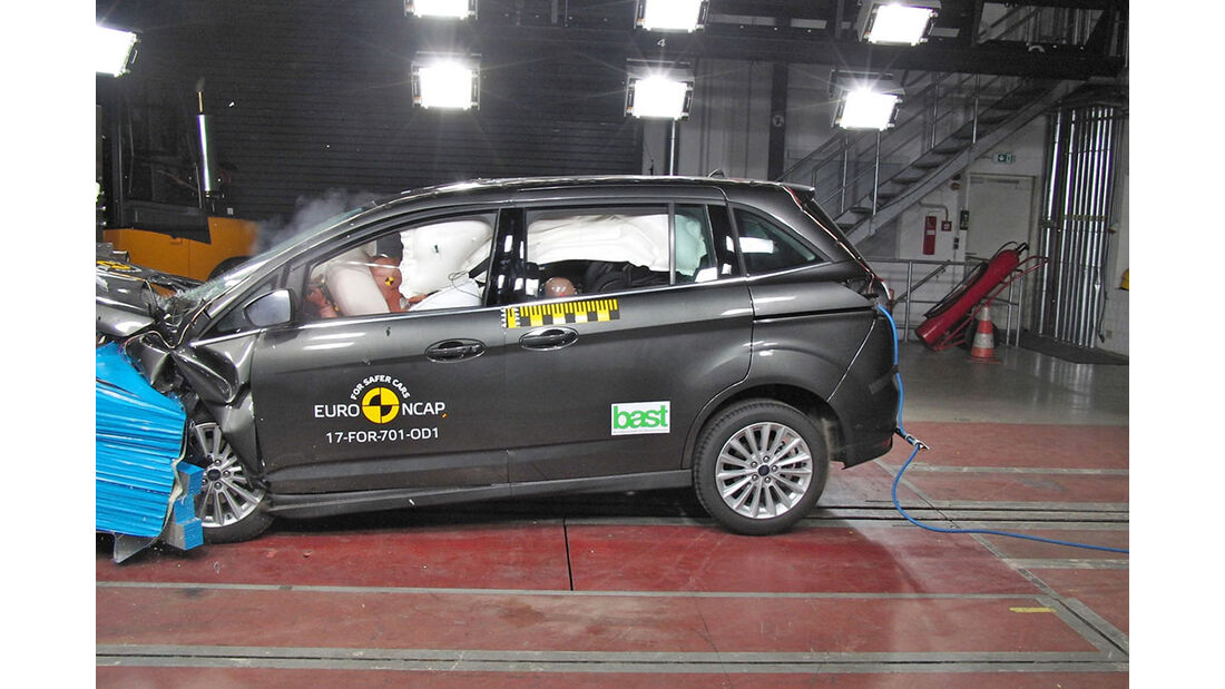 EuroNCAP Crashtest Ford Grand C-Max