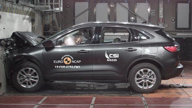 EuroNCAP Crashtest Ford Kuga