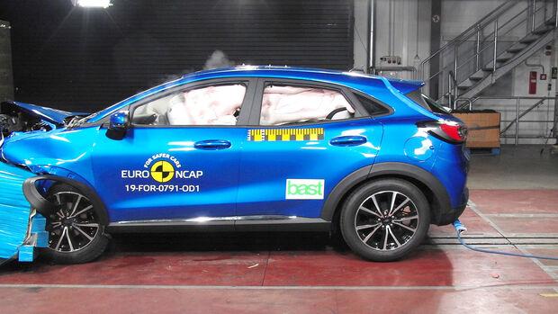 EuroNCAP Crashtest Ford Puma