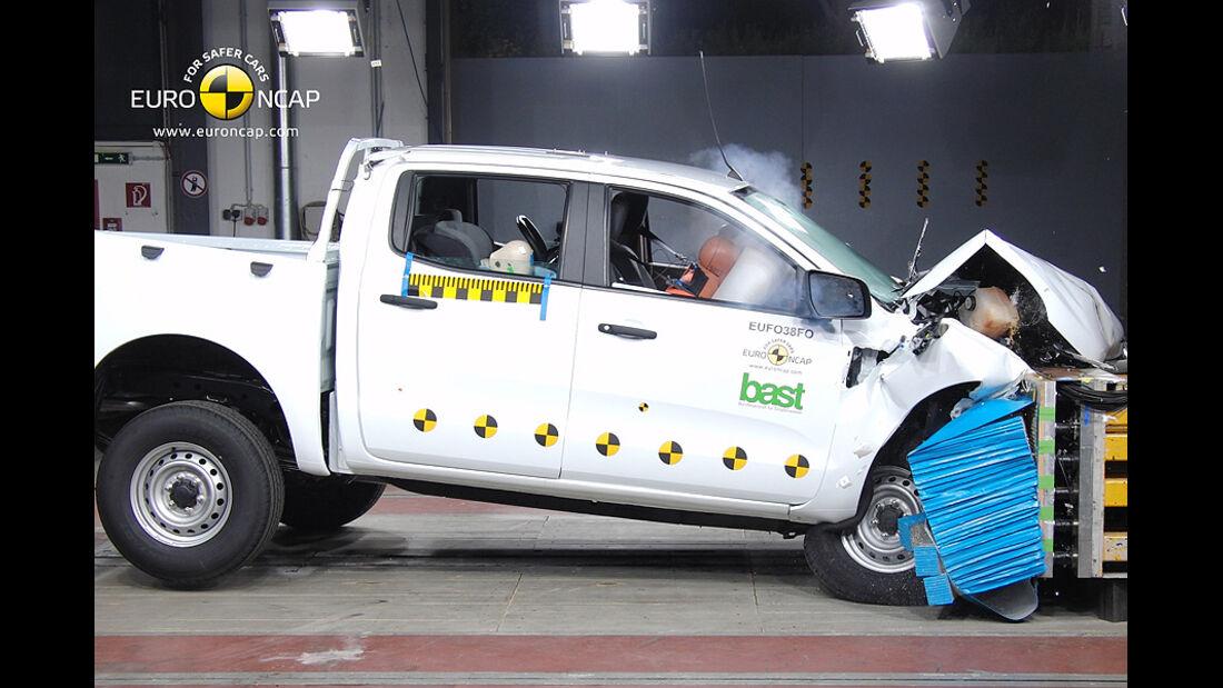 EuroNCAP-Crashtest Ford Ranger