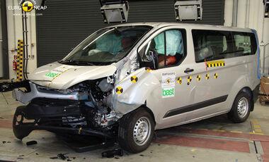 EuroNCAP-Crashtest Ford Transit Custom