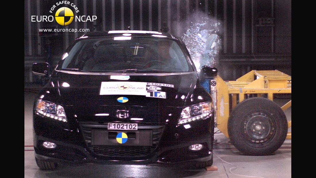 EuroNCAP-Crashtest Honda CR-Z, Seiten-Crashtest
