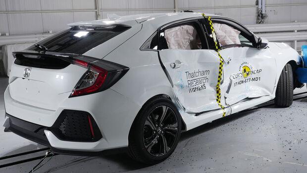 EuroNCAP-Crashtest Honda Civic