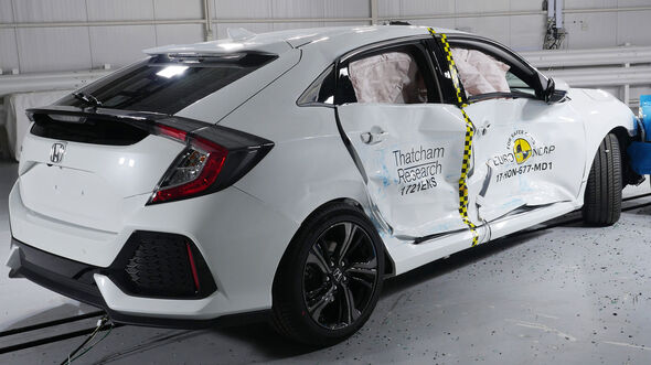 EuroNCAP-Crashtest Honda Civic