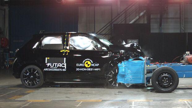 EuroNCAP-Crashtest Honda E 2020