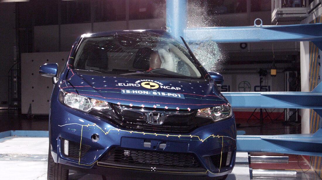 EuroNCAP-Crashtest Honda Jazz