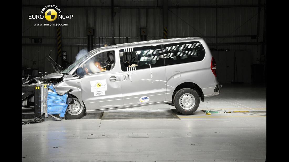 EuroNCAP-Crashtest Hyundai H1