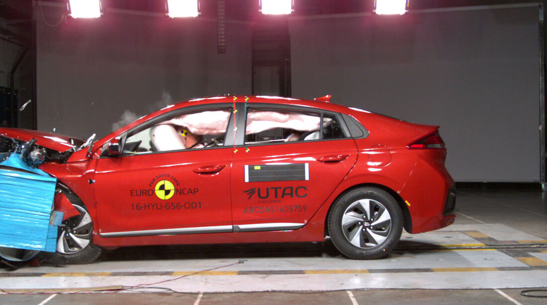 EuroNCAP Crashtest Hyundai Ioniq