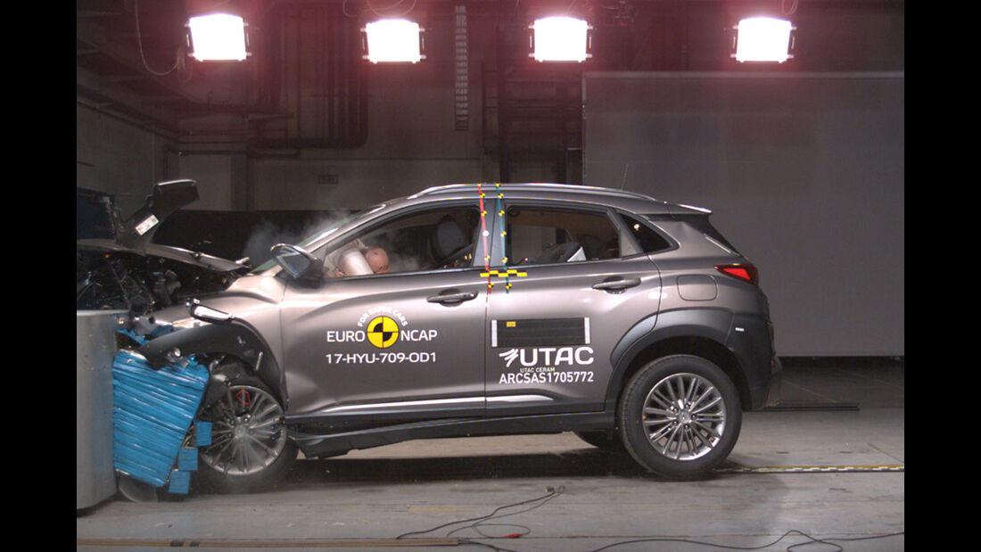 EuroNCAP Crashtest Hyundai Kona
