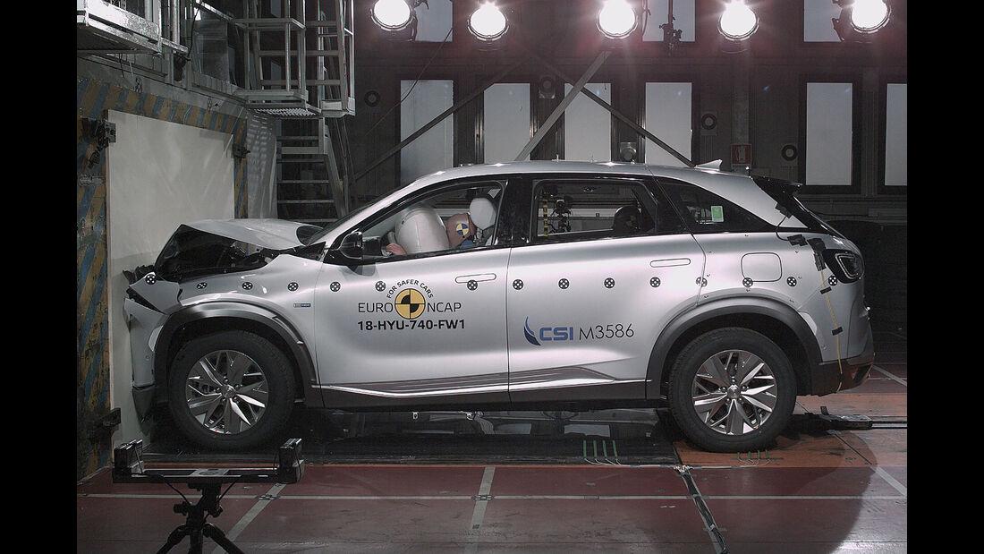 EuroNCAP Crashtest Hyundai Nexo
