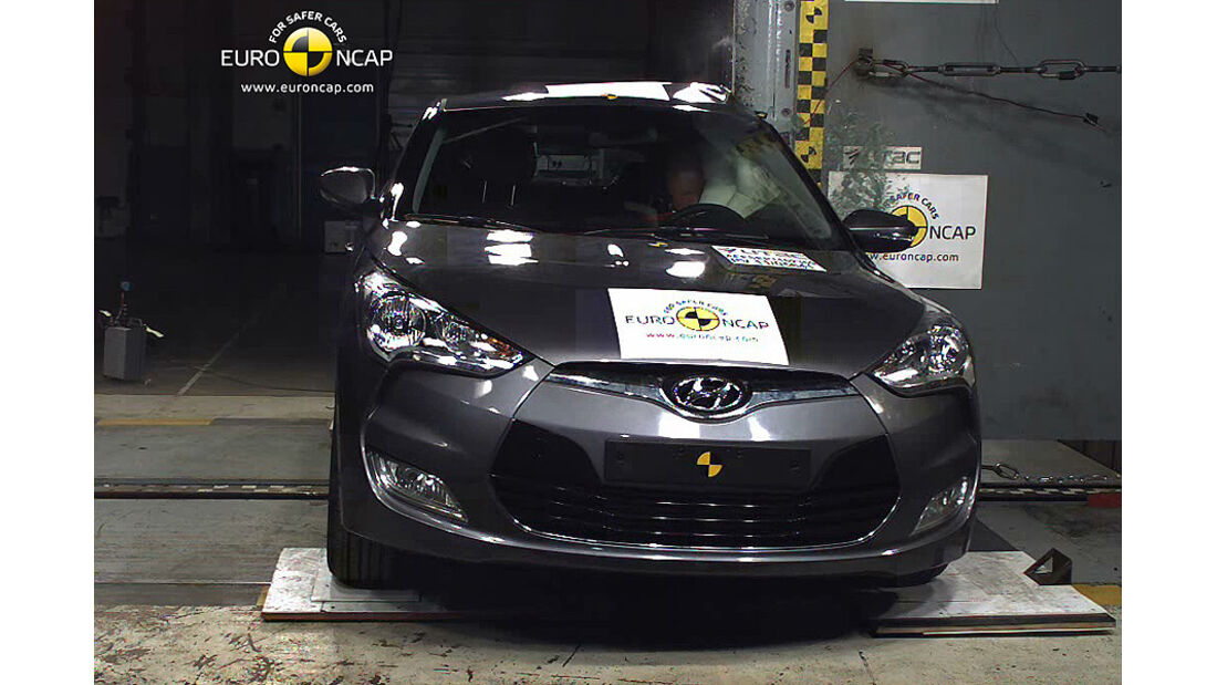 EuroNCAP-Crashtest Hyundai Veloster