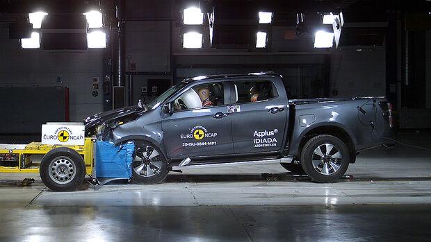 EuroNCAP-Crashtest Isuzu D-Max 2020
