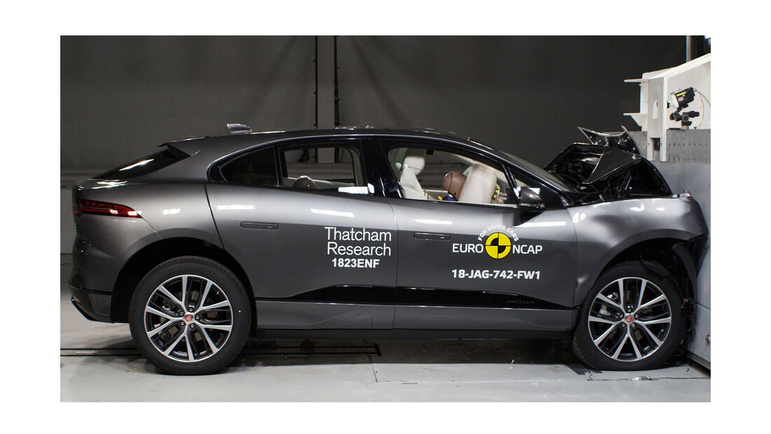 EuroNCAP Crashtest Jaguar I-Pace