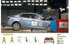 EuroNCAP-Crashtest, Jaguar XF, Frontal-Crashtest