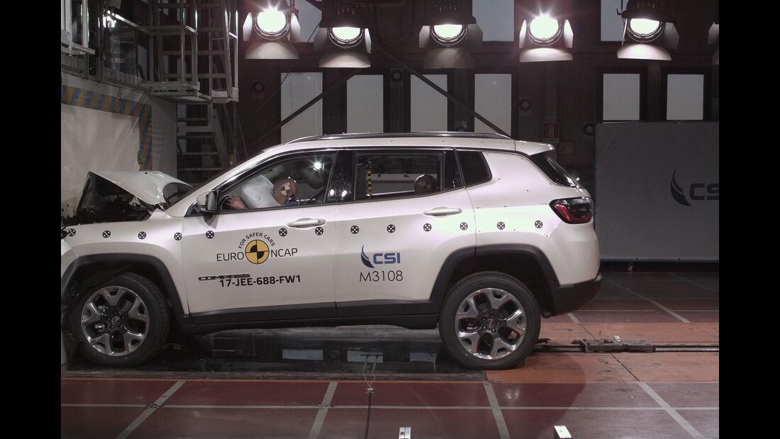 EuroNCAP-Crashtest Jeep Compass
