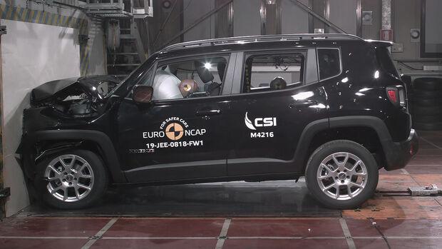 EuroNCAP Crashtest Jeep Renegade