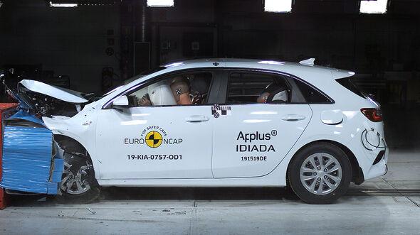 EuroNCAP-Crashtest Kia Ceed