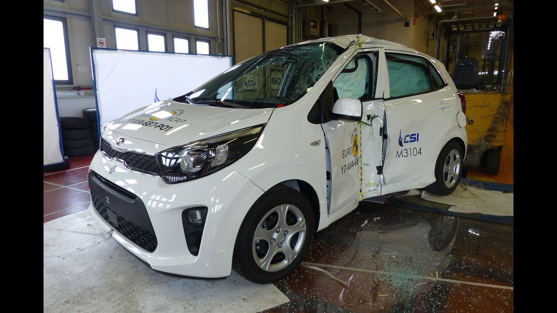 EuroNCAP-Crashtest Kia Rio