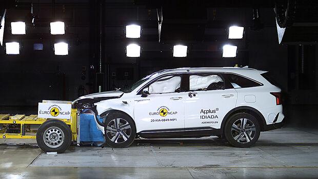 EuroNCAP-Crashtest Kia Sorento 2020