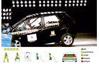 EuroNCAP-Crashtest, Kia Venga, Frontal-Crashtest