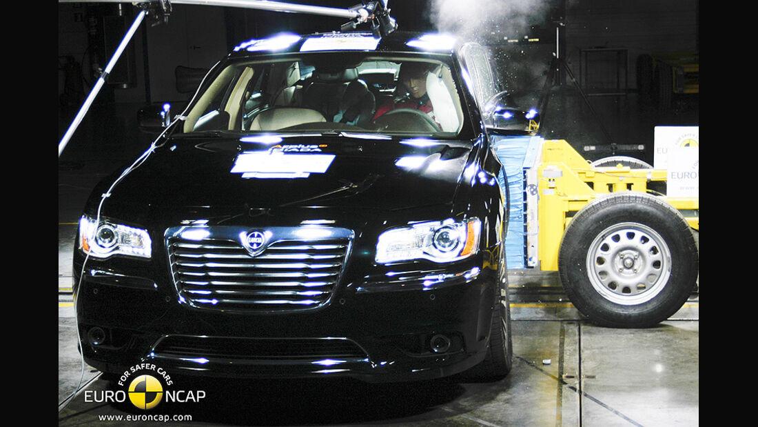 EuroNCAP-Crashtest Lancia Thema