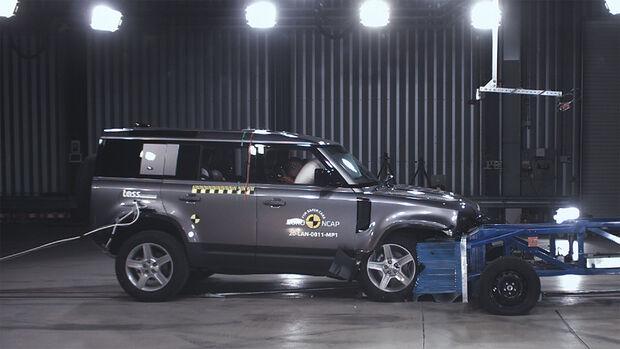 EuroNCAP-Crashtest Land Rover Defender 2020