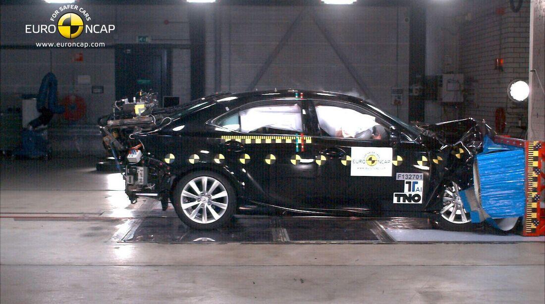 EuroNCAP-Crashtest, Lexus IS 303