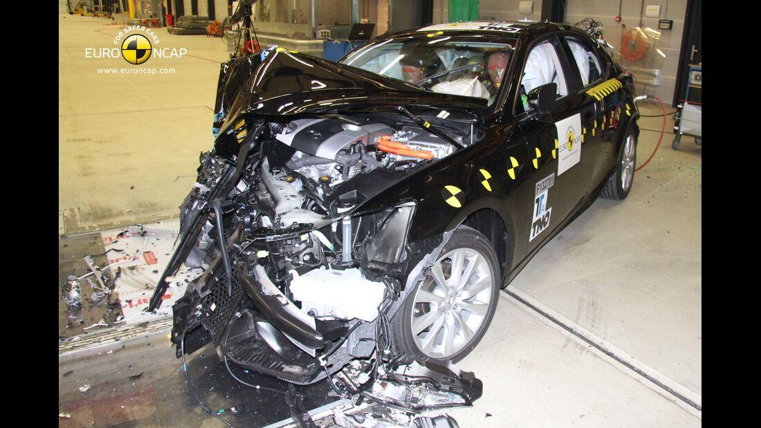 EuroNCAP-Crashtest, Lexus IS 305