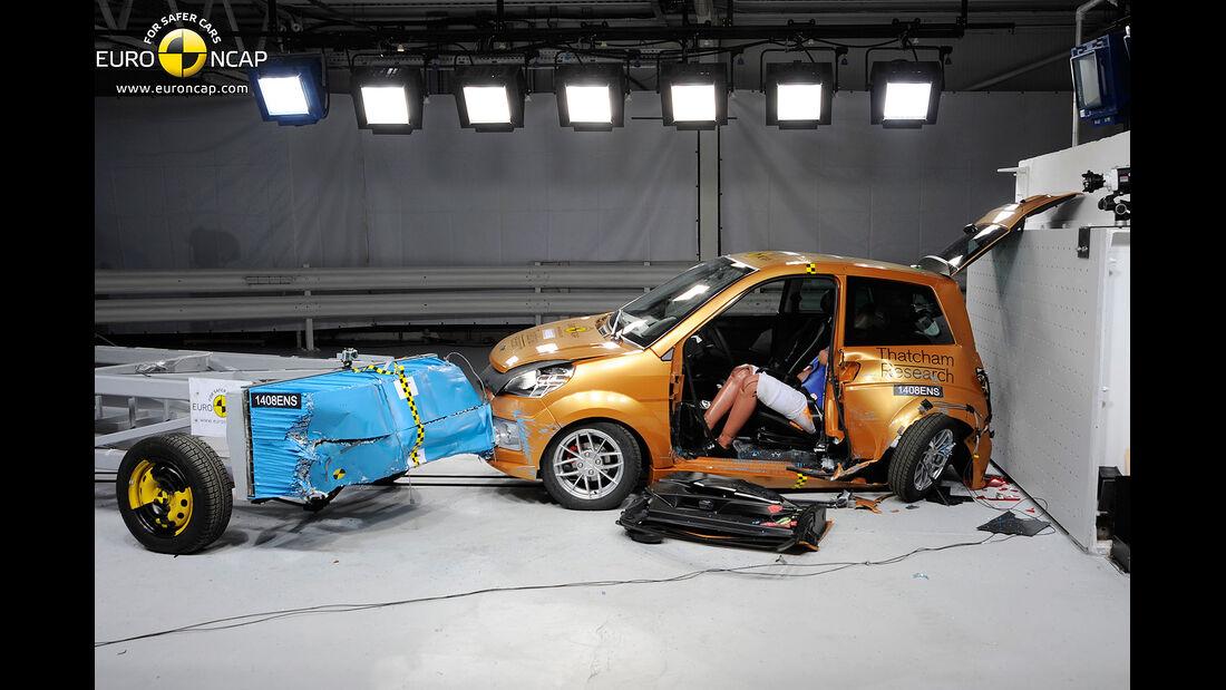 EuroNCAP Crashtest Ligier Ixo