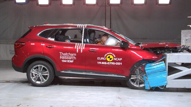 EuroNCAP Crashtest MG HS